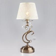 1448/1T античная бронза Strotskis настольная лампа