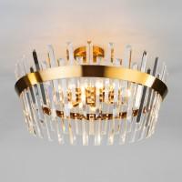 10111/8 золотая бронза/прозрачный хрусталь Strotskis