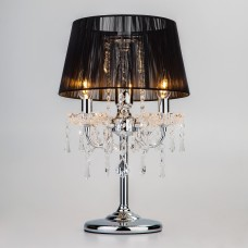 2045/3T хром/черный настольная лампа