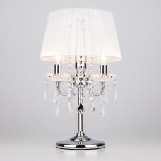2045/3T хром/белый настольная лампа